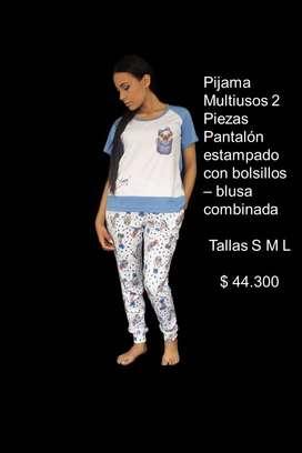 Pijama Multiuso 2 piezas