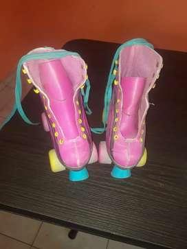 Geniales patines de soy luna