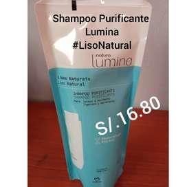 #ShampooPurificante #Lumina #LisoNatural