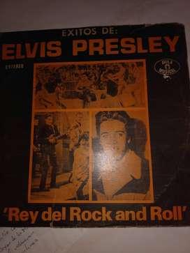 LP CON EXITOS DE ELVIS PRESLEY