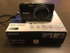 Cámara Digital Sony 16.1 Megapixels / DSCW630 / Compacta