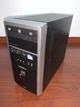 CPU Intel Celeron Dual Core, RAM 2GB,DD 500GB, DVD