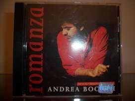 Andrea Bocelli romanza cd