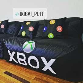 Sofá puff tipo Xbox