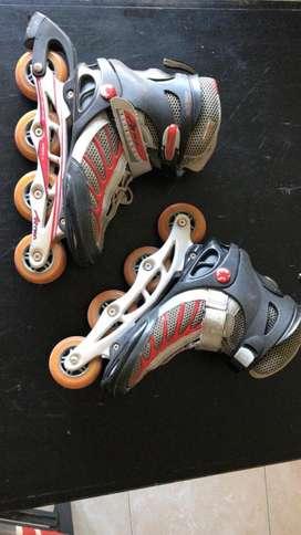 Roller action inline skate aluminio usados