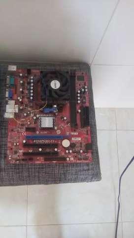 Combo board y procesador ddr2