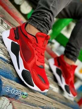 Zapato Tennis Deportivo Puma RS Para Hombre