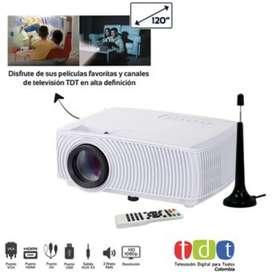 Proyector VTA con televisión TDT HD