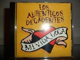 Los Auténticos Decadentes mi vida loca cd