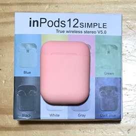 Auriculares inalámbricos InPods 12 V5.0. Nuevos en caja sellada