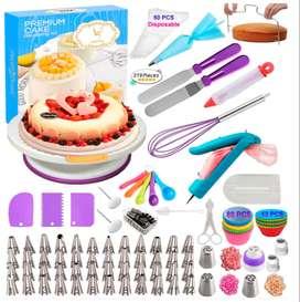 Kit de 219 pieza suministros de decoración para tortas y  pasteleria