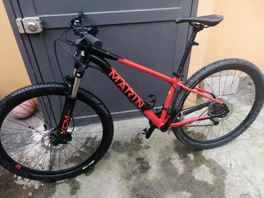 Vendo bicicleta marin bobcat trail 2019 0