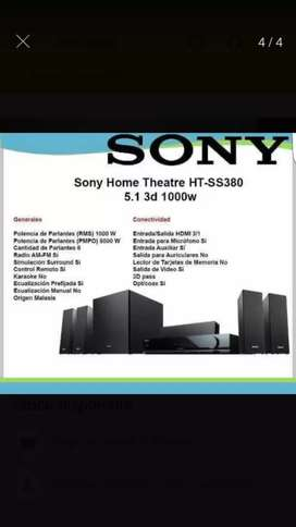Home theater Sony 5.1 3d 1000 w