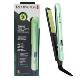 Plancha REMINGTON ORIGINAL SHINE THERAPY de Aguacate y Macadamia