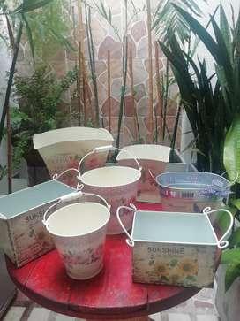 Bases vintage para decoración