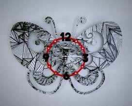 relojes mariposa 70cm