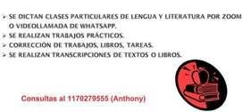 CLASES PARTICULARES/TP LENGUA Y LITERATURAA