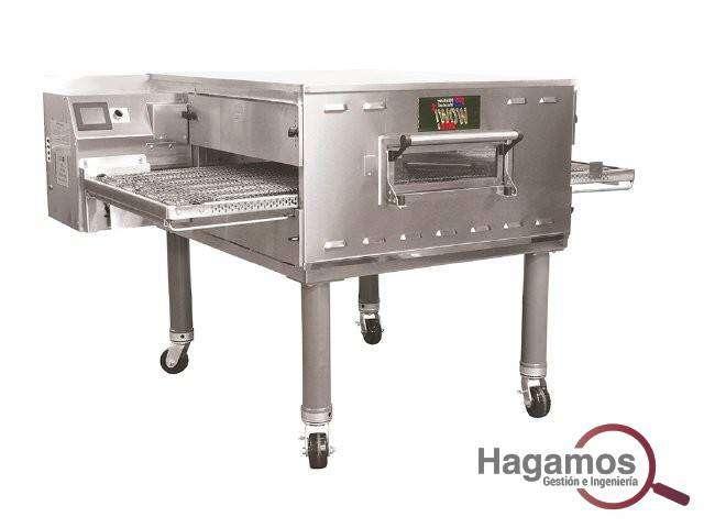 hornos para pizza de piedra refractaria A GAS