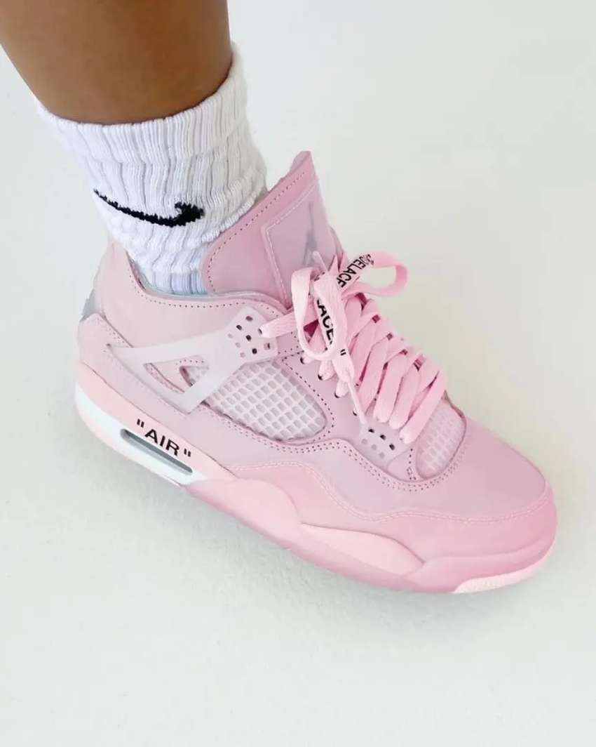 Tenis Nike Jordan Retro 4 Dama