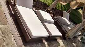 Pisos deck , madera plástica ideal para exteriores, libre de mantenimiento.