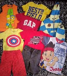 Lote ropa de niño 3-4 años