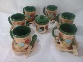 Juego de desayuno en cerámica