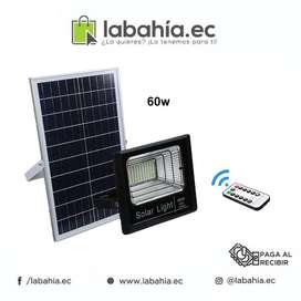 Reflector LED 60W con bateria  Panel Solar