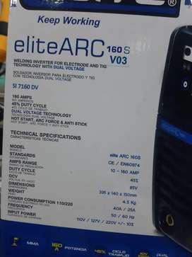 Soldador elite arc 160 s