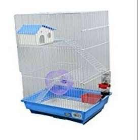 Jaula hamster 2 pisos casita H430