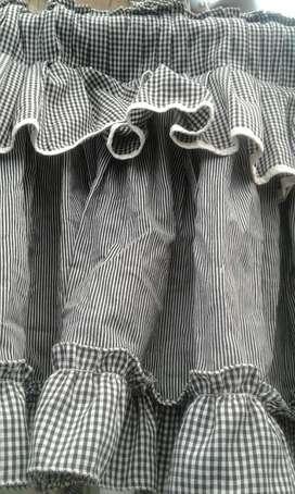 Vendo cortina en tela super elegante
