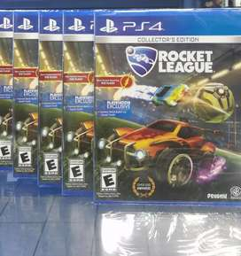 Rocket League Ps4 Nuevo Sellado Stock