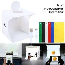 Caja de luz plegable portátil Fotografía