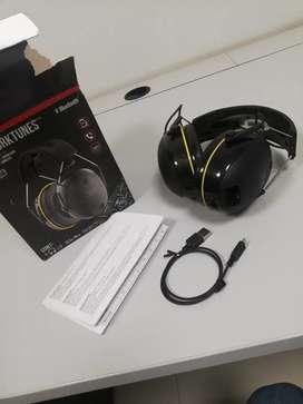 3M- Protector auditivo inalámbrico WorkTunes con tecnología Bluetooth
