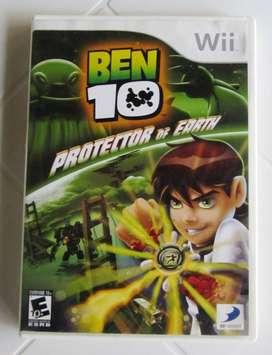 juego wii BEN 10 usado