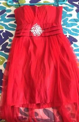 Vestido Elegante Rojo