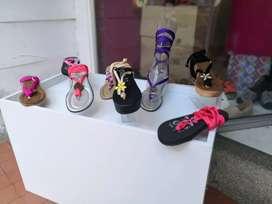 Venta o permuta lote zapatos, sandalia y bolsos dama