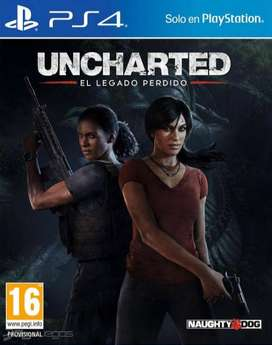 uncharted Lost Legacy Ps4 Blu-ray