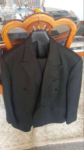 Vestido de paño Hernan Barrios para hombre color negro talla XL