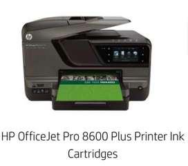 Impresora  Hp con cartuchos