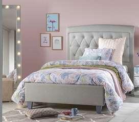 Vendo hermosa cama semi doble murano