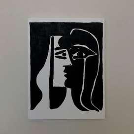 Cuadro Picasso kiss
