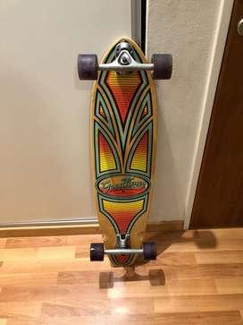 Longboard woodoo