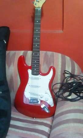 Guitarra eléctrica + amplificador 35 wats