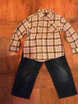 Pantalon y camisa
