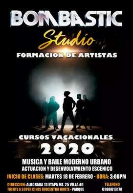 CURSO VACACIONALES 2020 BOMBASTIC STUDIO