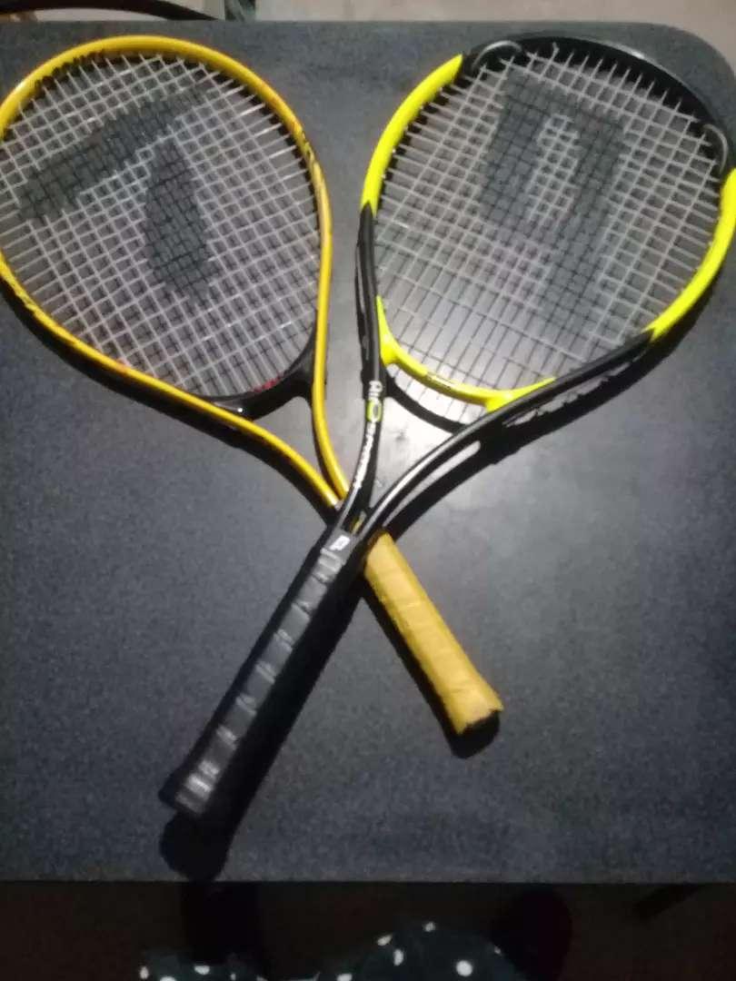 Vendo raquetas de tenis 0