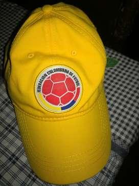 Gorra ,camiseta,balon de la seleccion colombia