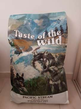 Concentrado Taste of the Wild Pacific Stream para Cachorros 28 lb