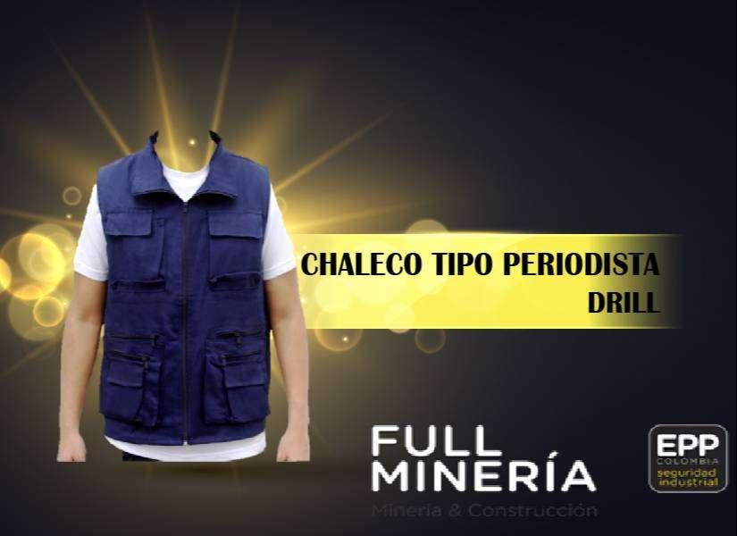CHALECO TIPO PERIODISTA DRILL 0