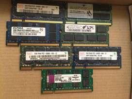 Memorias Ram Para Portatil de 2gb